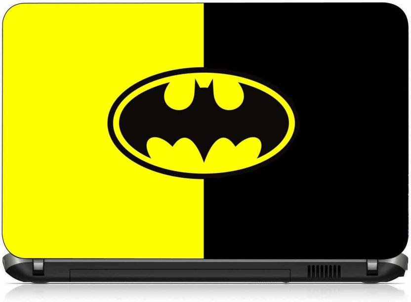 54d8b8cb73a7 VI Collections BATMAN LOGO pvc Laptop Decal 15.6 Price in India - Buy VI  Collections BATMAN LOGO pvc Laptop Decal 15.6 online at Flipkart.com