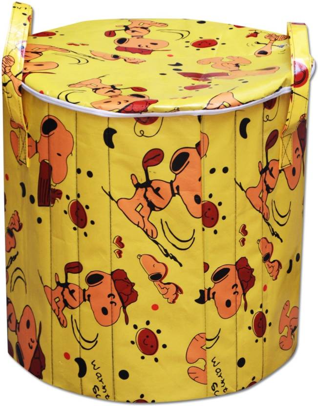Cherish 15 L Multicolor Laundry Bag PVC