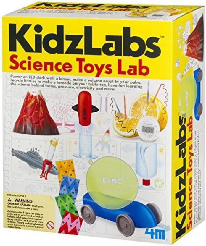 2aedaec22 4M Kidzlabs Science Toys Lab Science Kit Price in India - Buy 4M ...