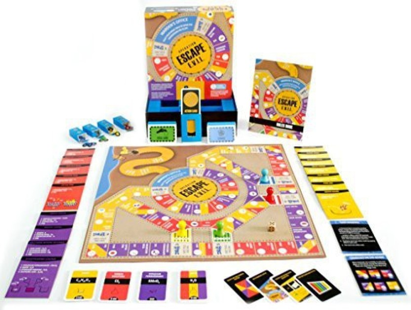 Kitki Escape Evil Fun Educational Board Games Stem Toys On Chemistry For Kids 8 10 9 12 14. Geek Gifts Science Kits Boys Girls Teens. (Multicolor)