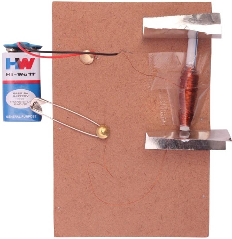 ProjectsforSchool Solenoid Bell - DIY kit for Science