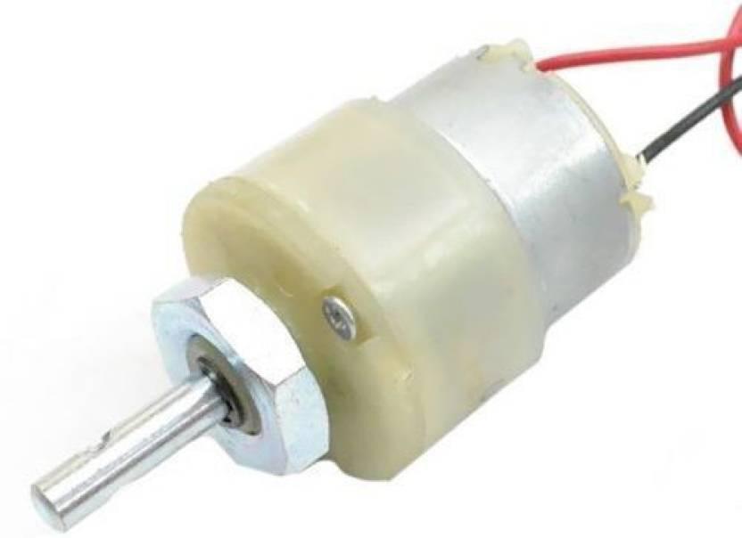 Kimaginations 1000 RPM 12v DC Center Shaft Gear Motor