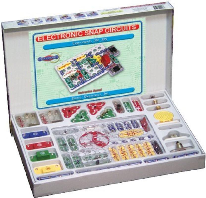 Snap Circuits Sc 300 Electronics Discovery Kit By Elenco ...