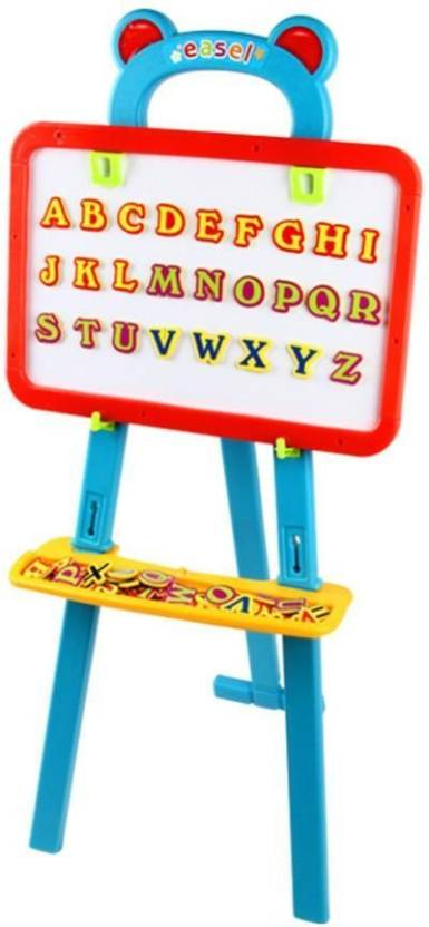 Swarish Kids Creativity Magnetic Board 84 Letters Nos Symbols Center