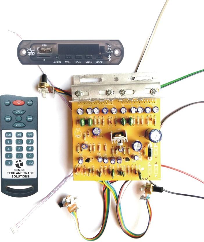 tech and trade 100w diy stereo audio amplifier circuit kit board rh flipkart com