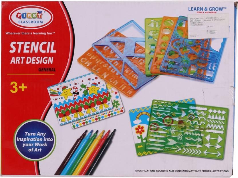 ishika STENCIL ART DESIGN Price in India - Buy ishika STENCIL ART