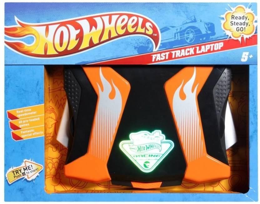 Hot Wheels Fast Track laptop
