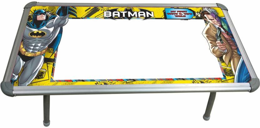 Batman Premium Write & Wipe Toy Table With Aluminium Frame & Stand ...