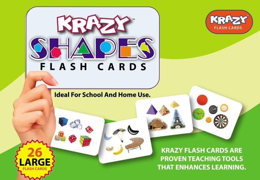 e5dda2e68 Mind Wealth Krazy Shapes Flash Cards Price in India - Buy Mind ...