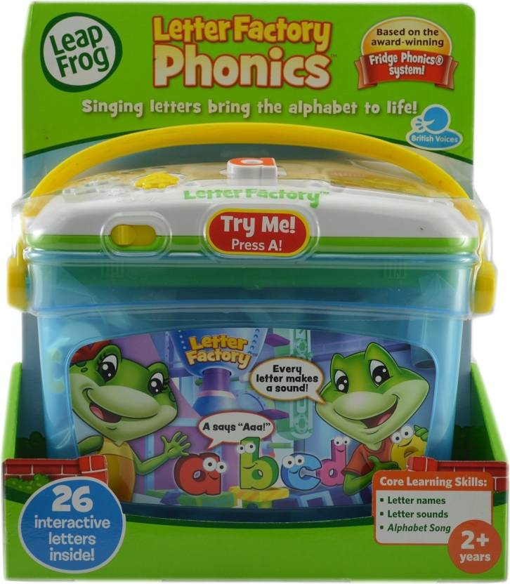 leapfrog letter factory phonics leapfrog letter factory phonics price in india buy 22720