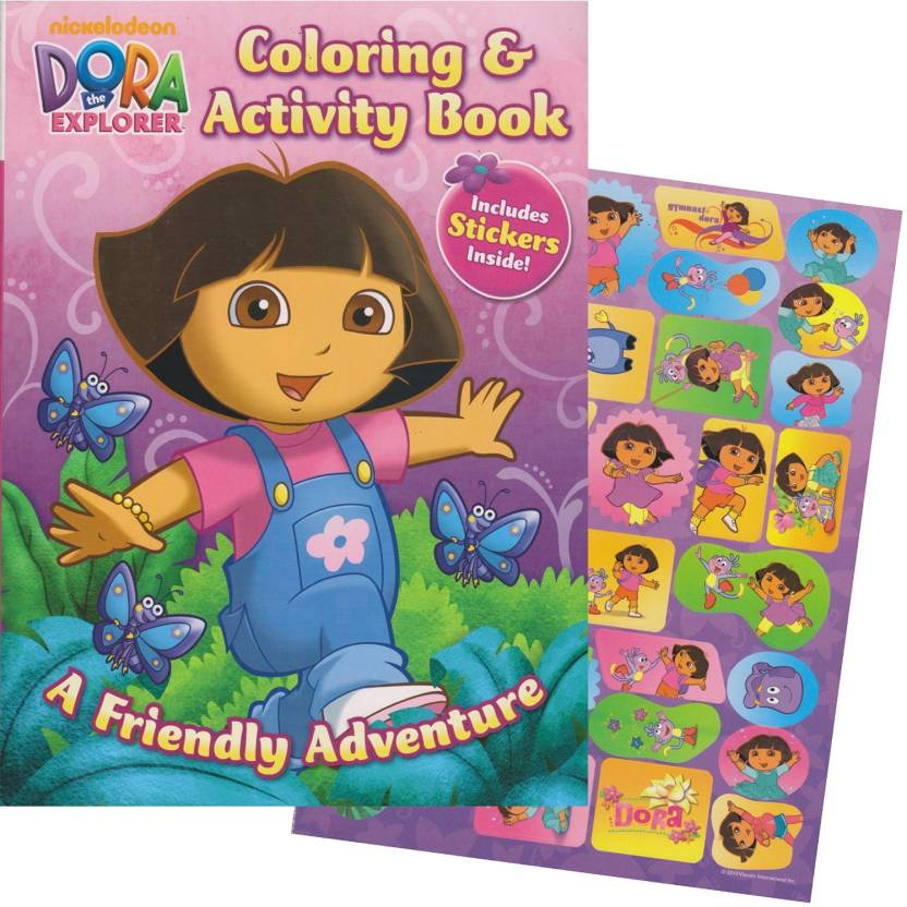 Bendon Publishing Dora The Explorer Giant Coloring Book With