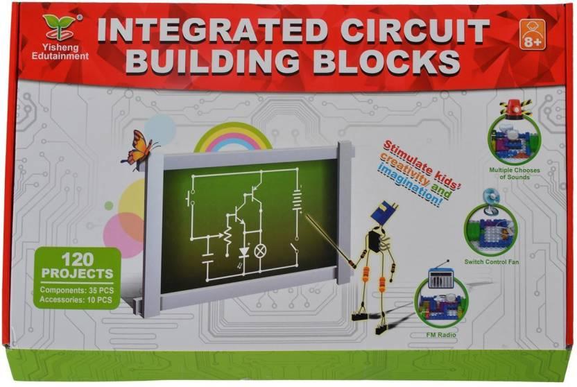 Planet of Toys Integrated Circuit Building Blocks Scientific ...