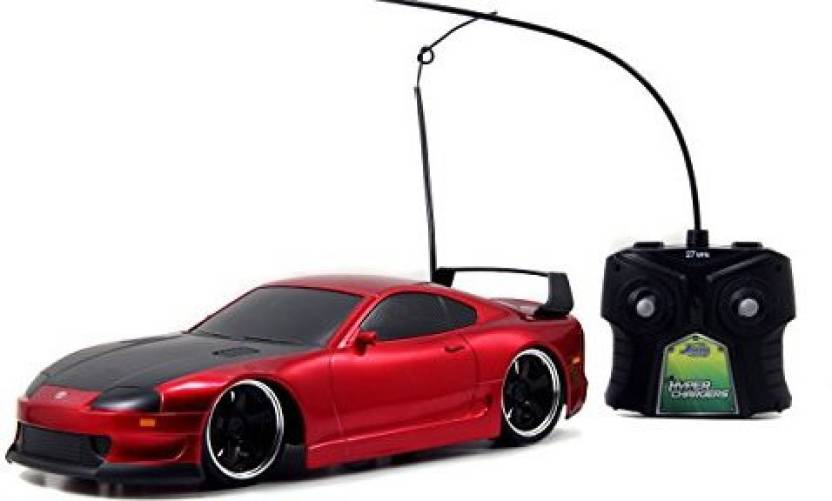 Jada Toys Hyperchargers Toyota Supra Tuner Exotic Remote Controlled Vehicle 116
