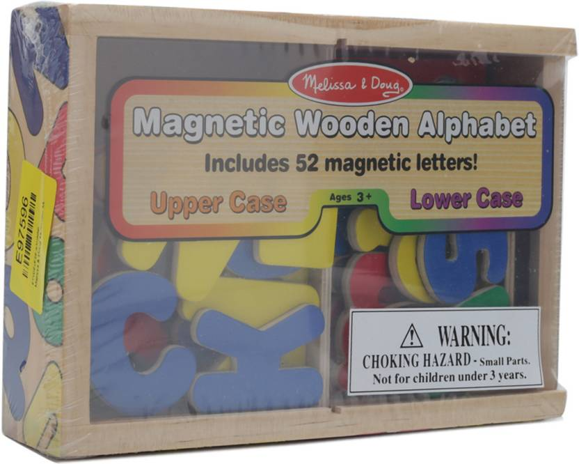 Melissa & Doug Magnetic Wooden Alphabets Price in India   Buy