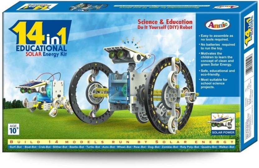 Annie 14 in 1 educational solar robot diy kit price in india buy annie 14 in 1 educational solar robot diy kit solutioingenieria Image collections