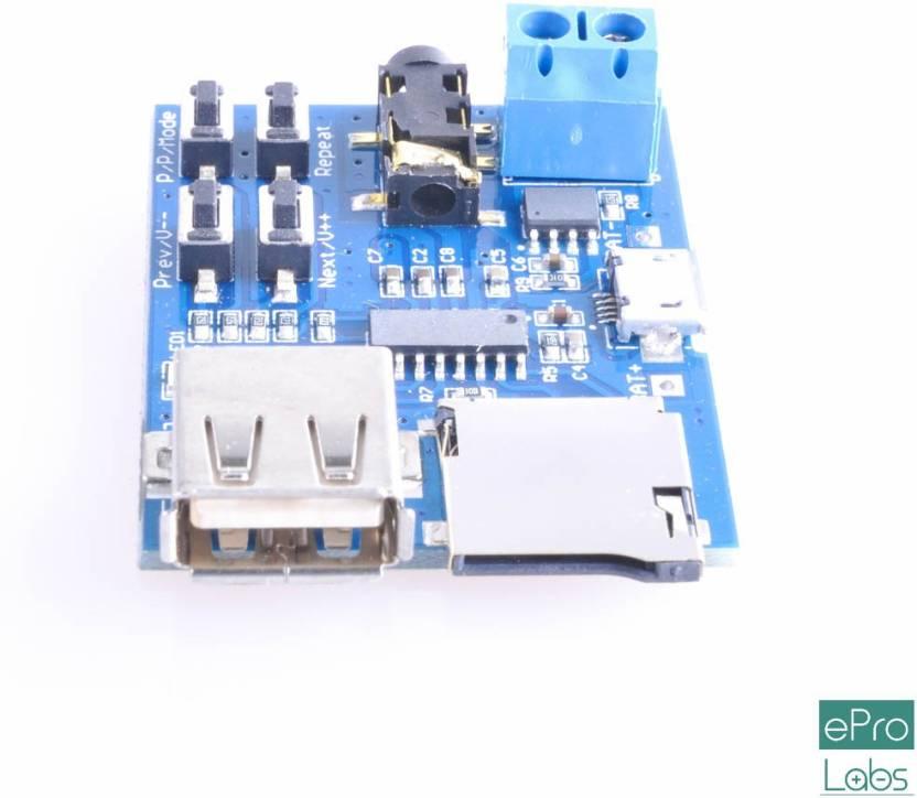 ePro Labs MP3 Player Audio Decoding Decoder Module