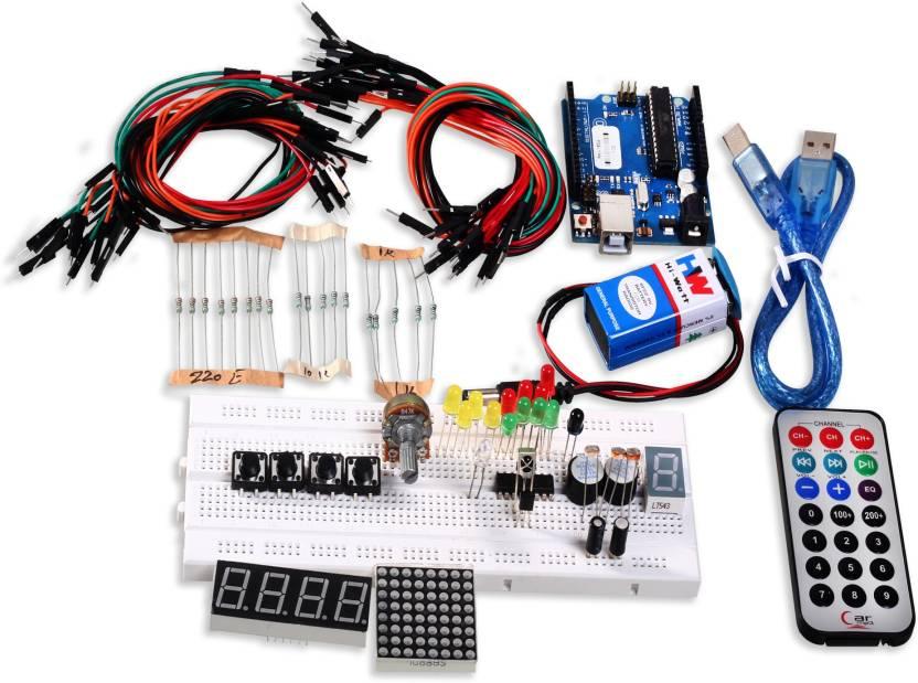 Robokits arduino uno based starter kit basic price in