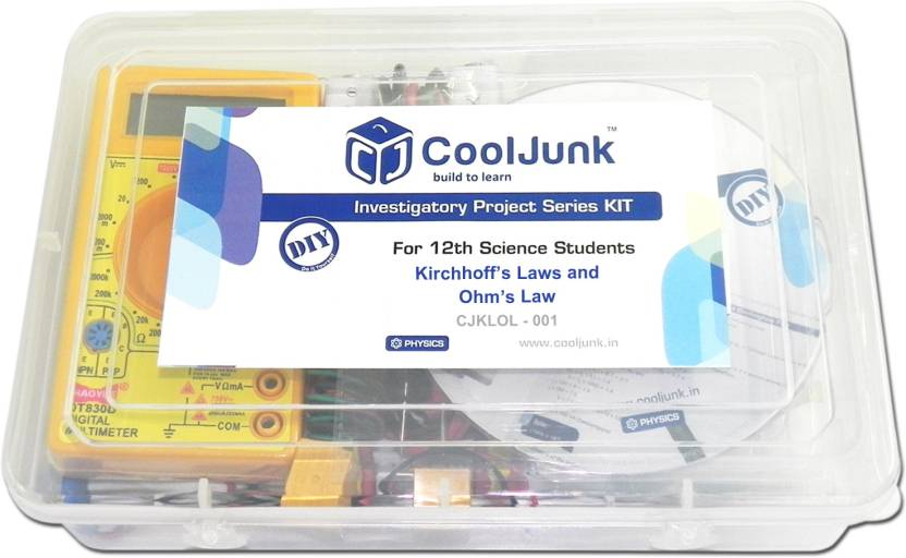 Cooljunk physics project kit kirchhoffs ohms laws price in cooljunk physics project kit kirchhoffs ohms laws solutioingenieria Choice Image
