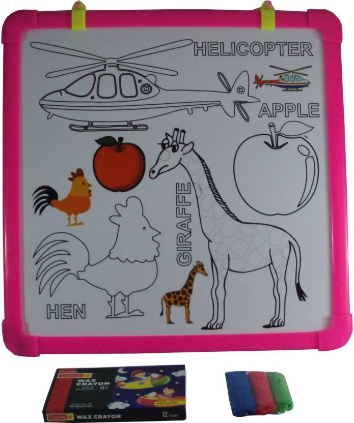Parteet Colouring, Writing and Drawing Board for Kids