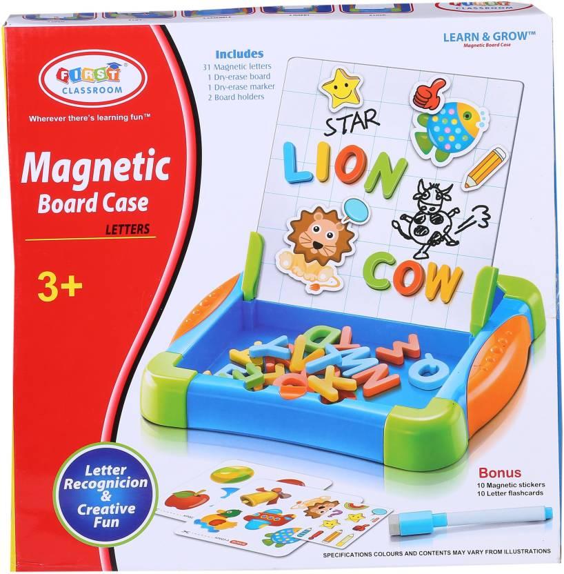 Jazzz Magnetic Board Case Letters