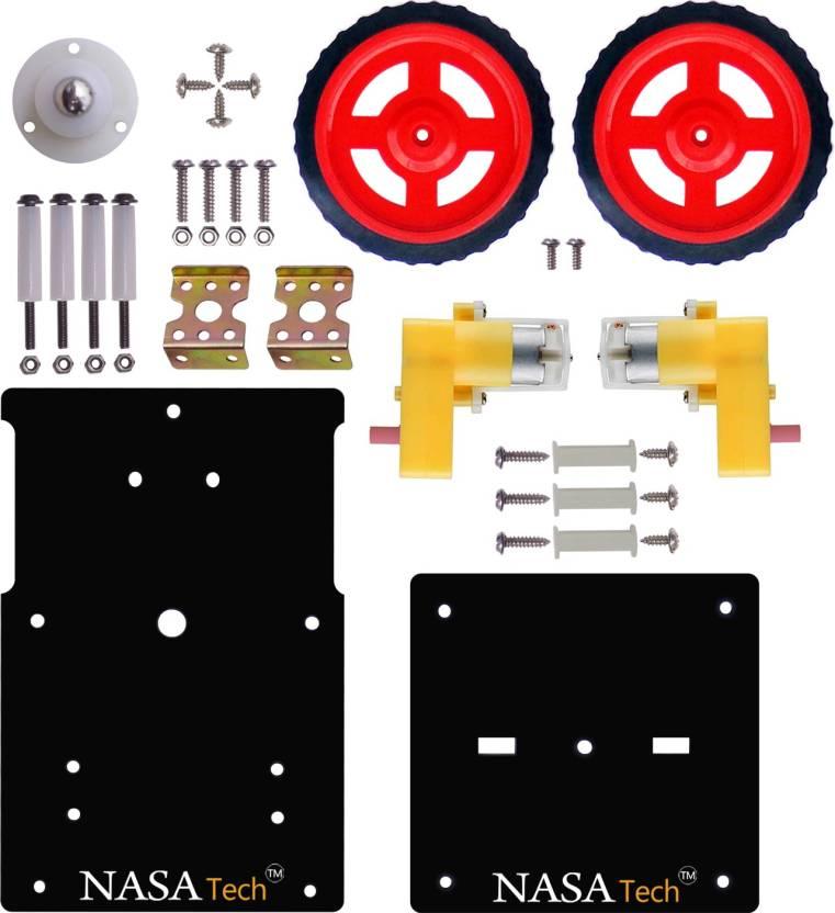 Nasa Tech Diy Basic Starter Robot Kit