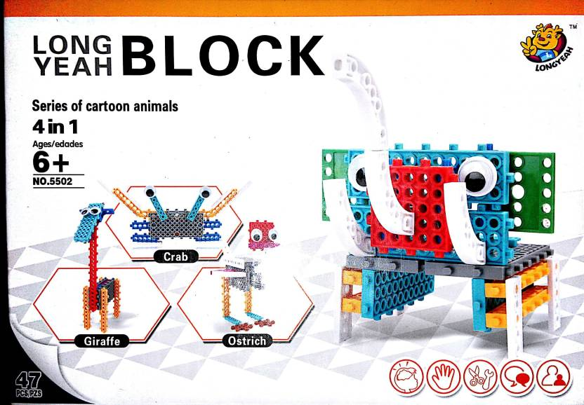 DIY Building Blocks for kids and children to build plane,car etc