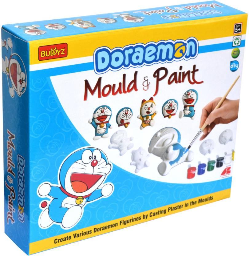 Buddyz Doraemon Do It Yourself Mould Paint For Kids