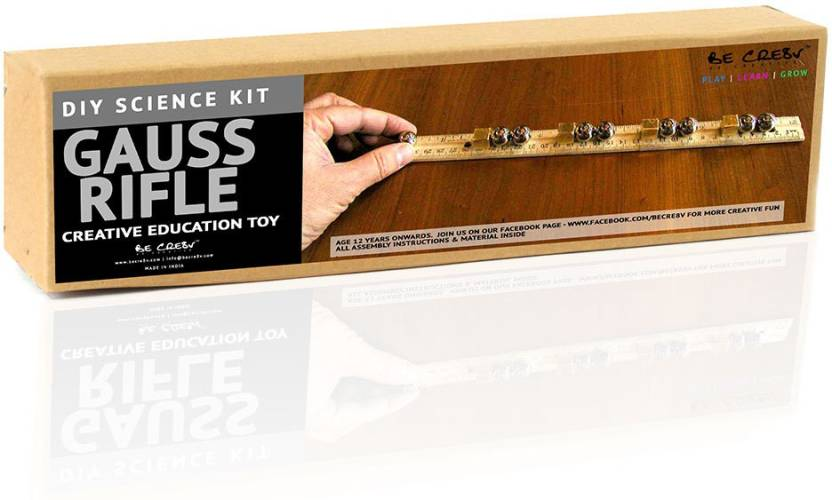 Be Cre8v Gauss Rifle Diy Science Kit