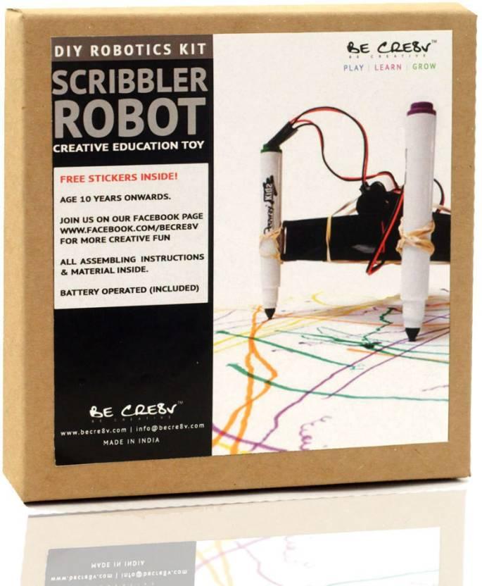 Be Cre8v Scribbler Bot Robotics Kit