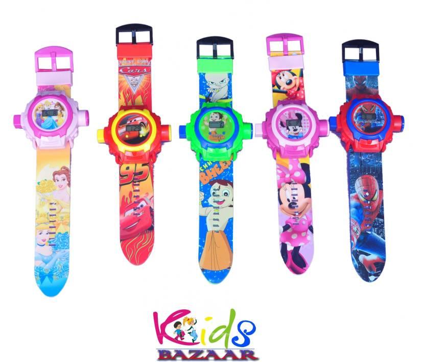 KidsBazaar 24 Images Projector Watch For KidsBest Birthday Return Gift Set Of