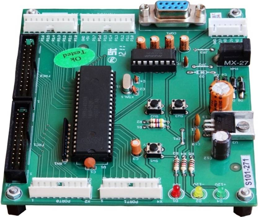SPJ Embedded 8051 Microcontroller Kit Green