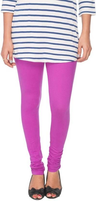 Kat Wears Women's Purple Leggings