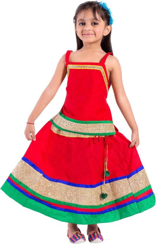 6819fe9ea2c6 Magnus Girls Lehenga Choli Ethnic Wear Embroidered Lehenga Choli ...