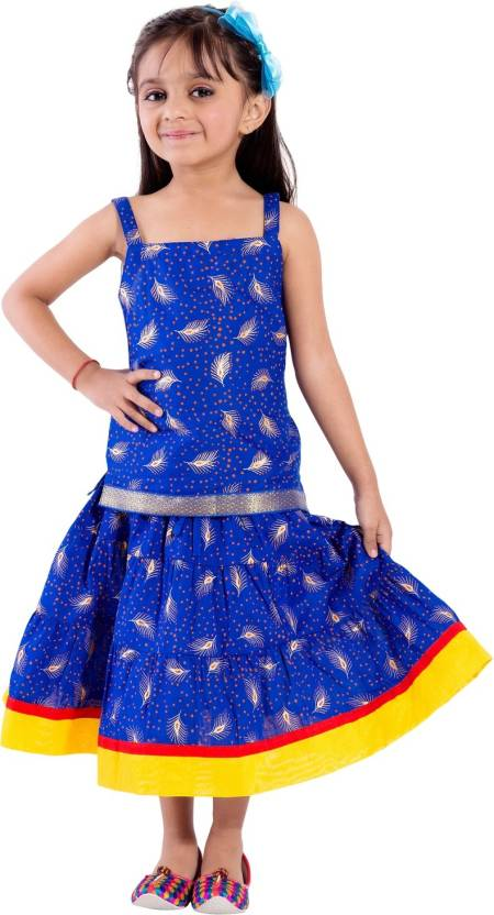 d500ad615056 Magnus Girls Lehenga Choli Ethnic Wear Self Design Ghagra Choli ...