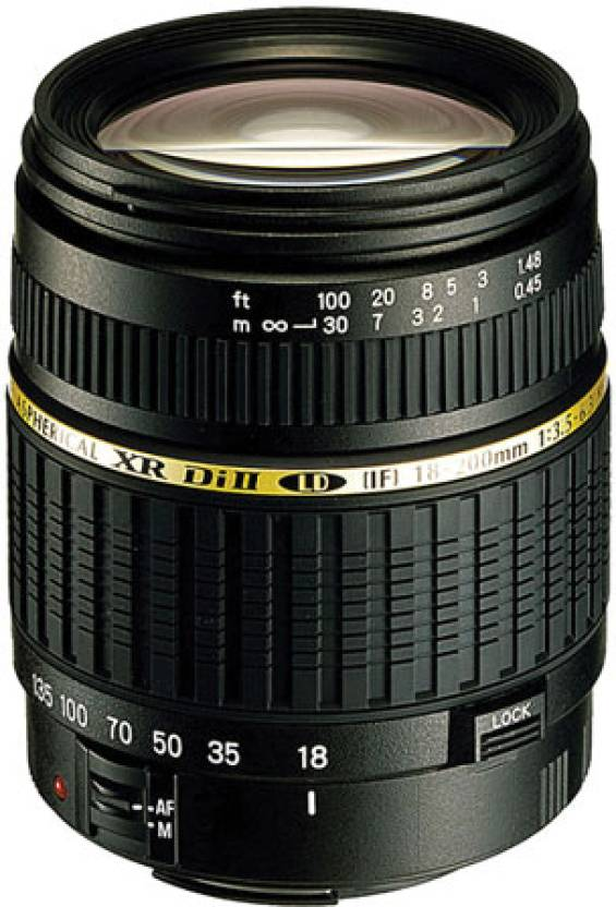 Tamron AF 18 - 200 mm F/3.5-6.3 XR Di-II LD Aspherical (IF) Macro for Canon Digital SLR  Lens
