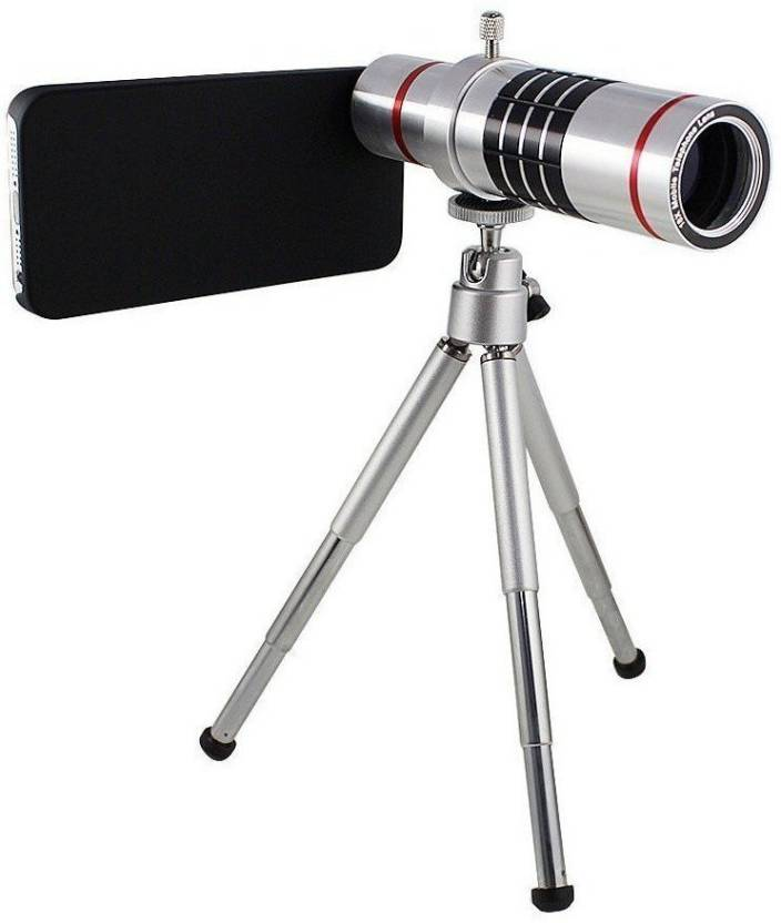 Mobilegear 18x Optical Zoom Telescope Mobile Camera Lens Kit With
