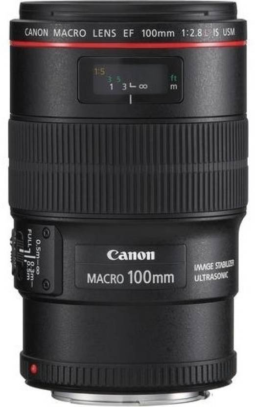 Canon EF 100 mm f/2.8L Macro IS USM  Lens