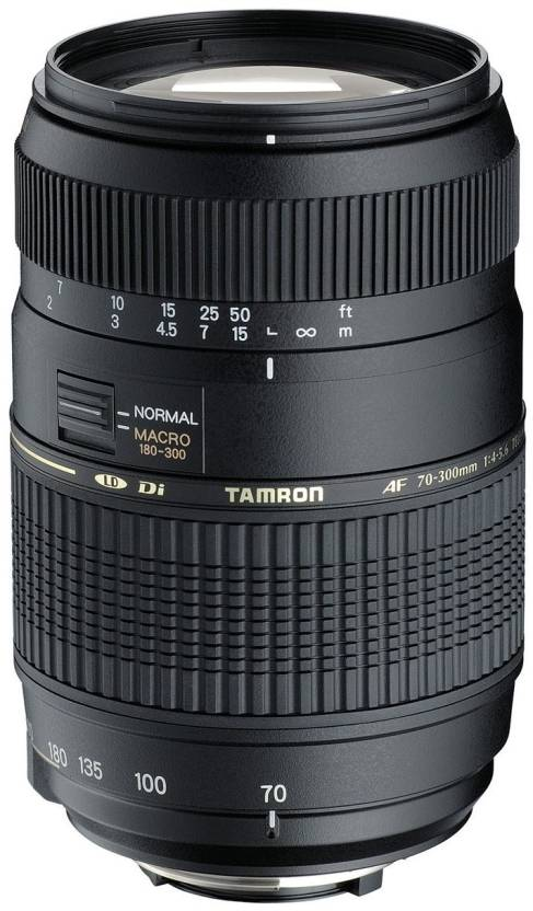 Tamron AF 70 - 300 mm F/4-5.6 Di LD Macro 1:2 for Nikon Digital SLR  Lens