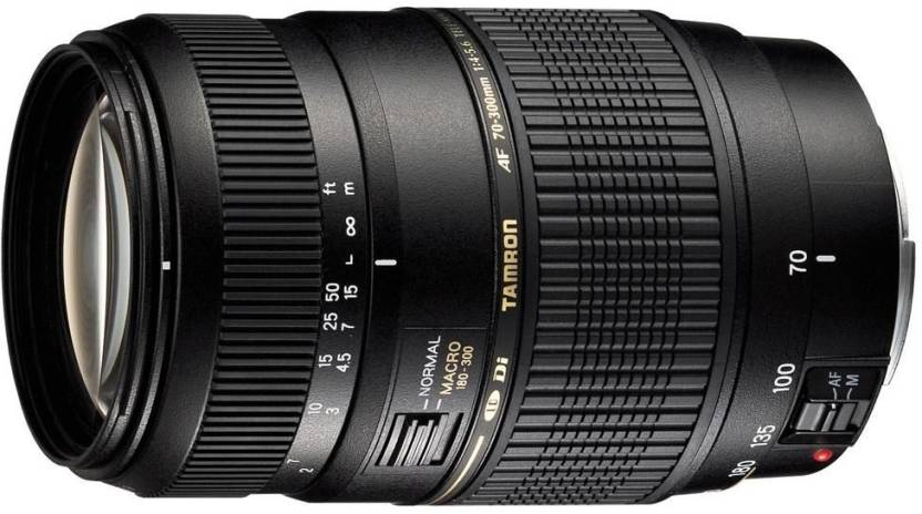 Tamron AF 70 - 300 mm F/4-5.6 Di LD Macro for Canon Digital SLR  Lens