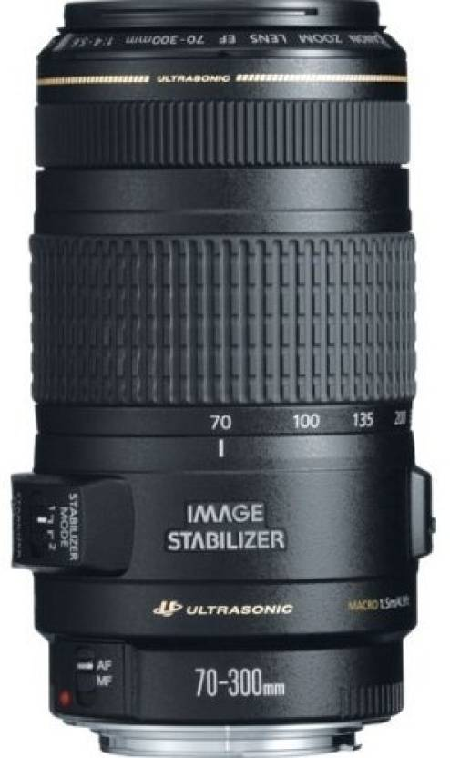 Canon EF 70 - 300 mm f/4-5.6 IS USM  Lens
