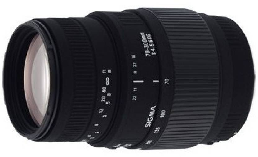 Sigma 70 - 300 mm F4-5.6 DG Macro for Canon Digital SLR  Lens