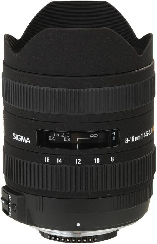 Sigma 8 - 16 mm F4.5-5.6 DC HSM for Nikon Digital SLR  Lens