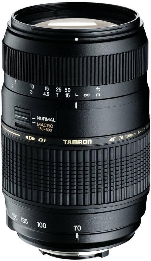 Tamron AF 70 - 300 mm F/4-5.6 Di LD Macro for Canon Digital SLR  Lens