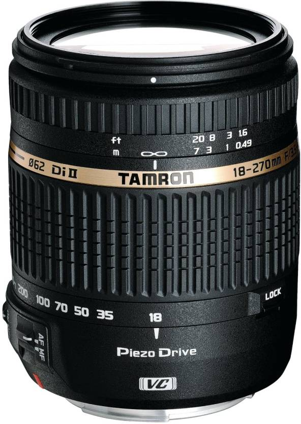 Tamron 18 - 270 mm F/3.5-6.3 Di II VC PZD for Canon Digital SLR  Lens