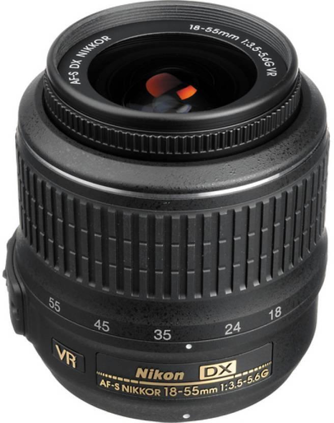 Nikon AF-P DX Nikkor 18 - 55 mm f/3.5-5.6G VR (3.0x)  Lens