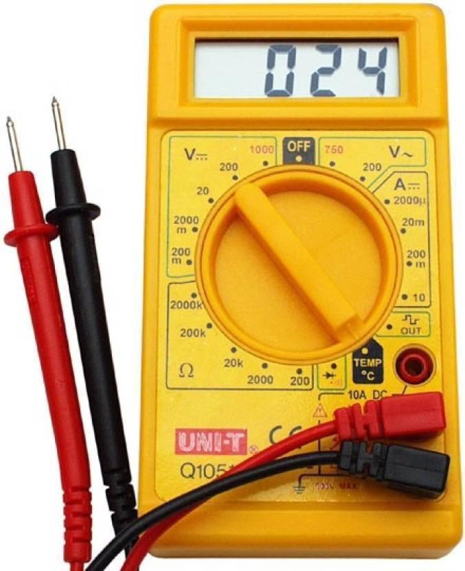 meenamart DT830D DIGITAL MULTIMETER Non-magnetic Electronic Level