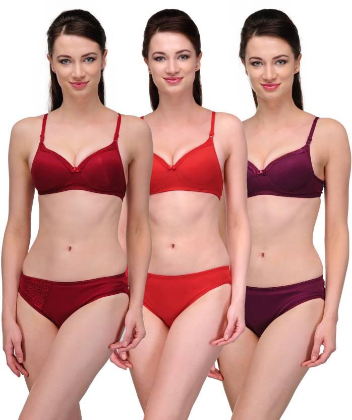 Softskin Lingerie Set - Buy Red 30712000b