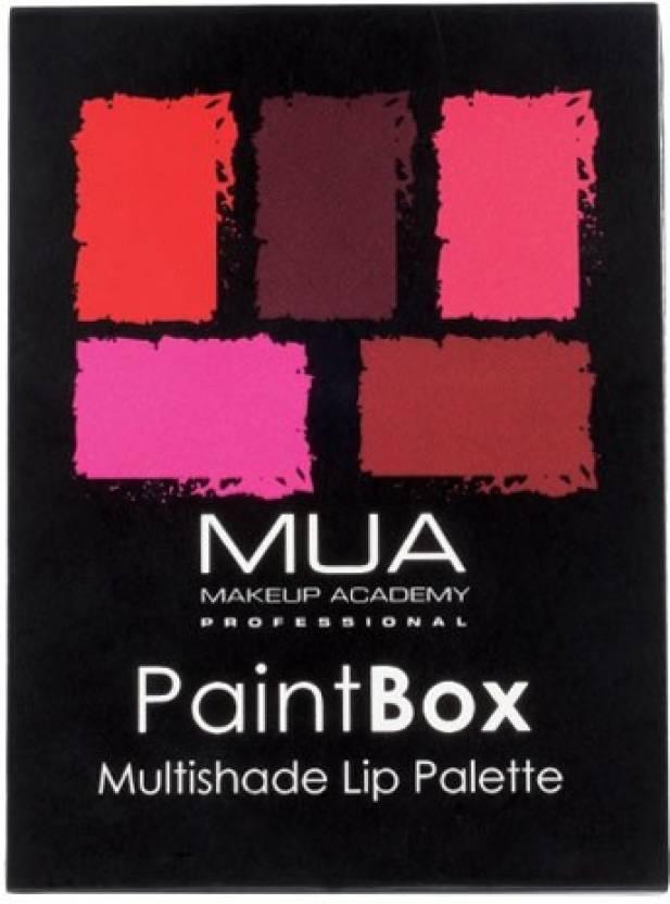 MUA Makeup Academy Paint Box Lip Palette 5 g
