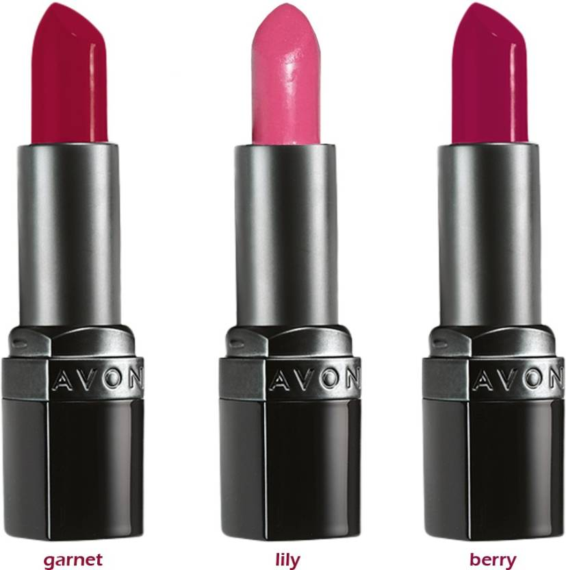 Avon Ultra Color Matte Lipstick Set Of 3 Of 38 G Each Price