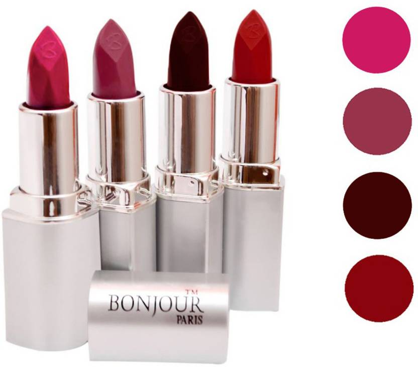 Bonjour Paris Lipstick Hot Combo Price In India Buy
